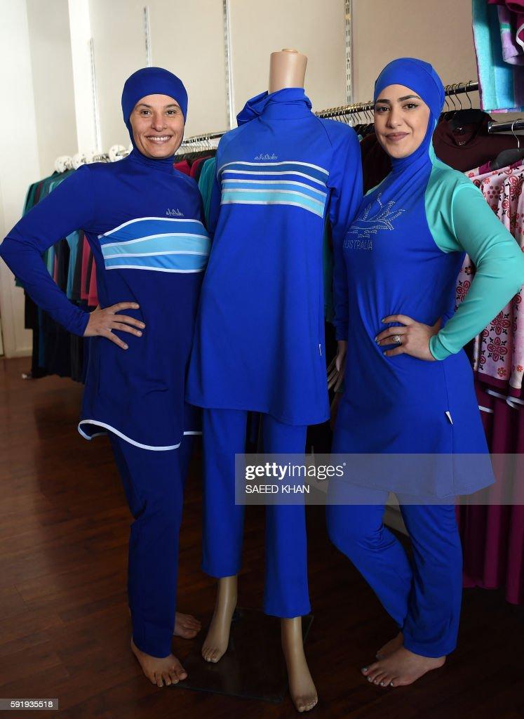 AUSTRALIA-FRANCE-ISLAM-CLOTHING-MUSLIM-LIFESTYLE : News Photo