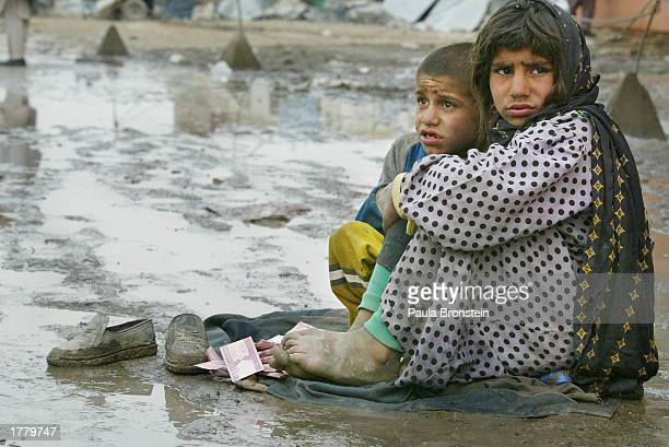 Muslim Needy Beg During Festival Of Sacrifice
