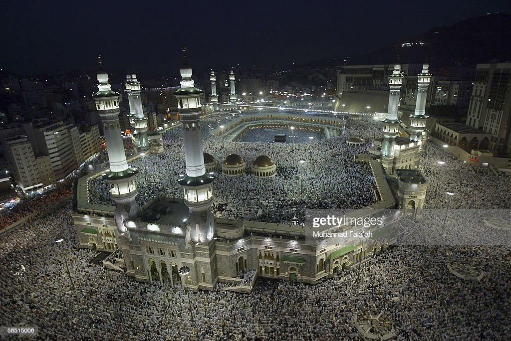 Muslims Prepare For Annual Hajj In Mecca : News Photo