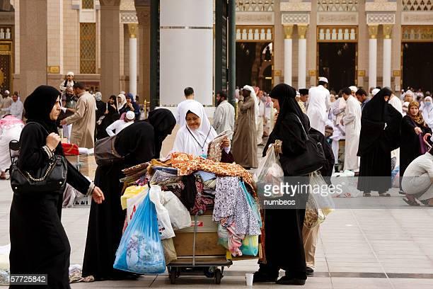 Pèlerins musulman, Medina, Arabie Saoudite