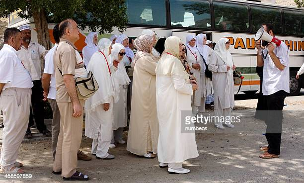 muslim pilgrims - mecca stock pictures, royalty-free photos & images