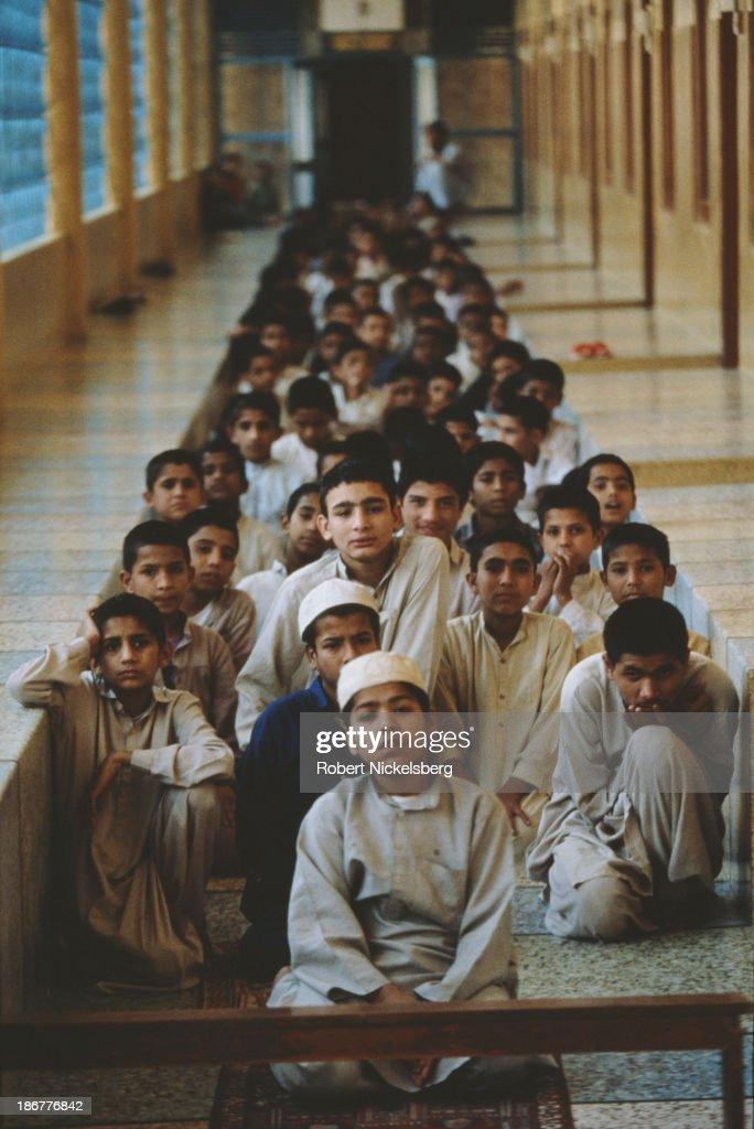 Madrasa, Pakistan : News Photo
