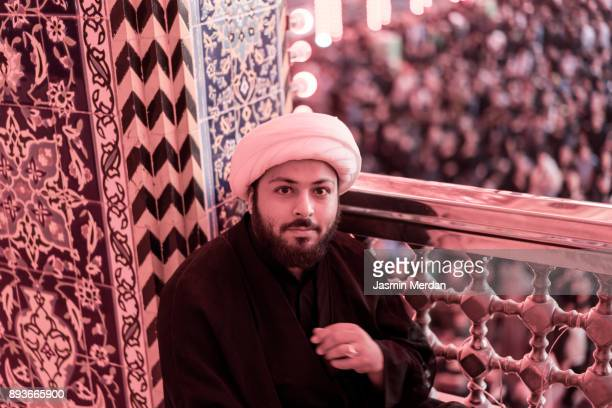 muslim religious man - iranian culture stock photos and pictures