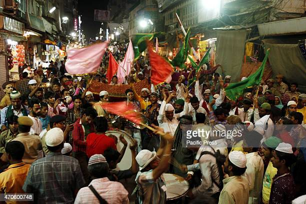 Muslim Sufi devotees are on their way to a pilgrimage at Ajmer Sharif a revered Muslim shrine