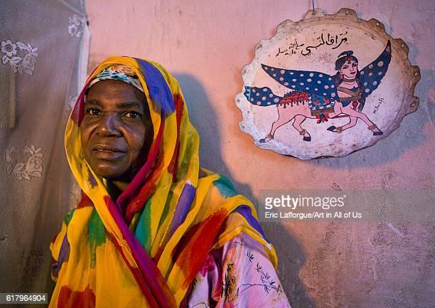 Muslim woman, island of mozambique, Mozambique on July 16, 2013 in Island Of Mozambique, Mozambique.