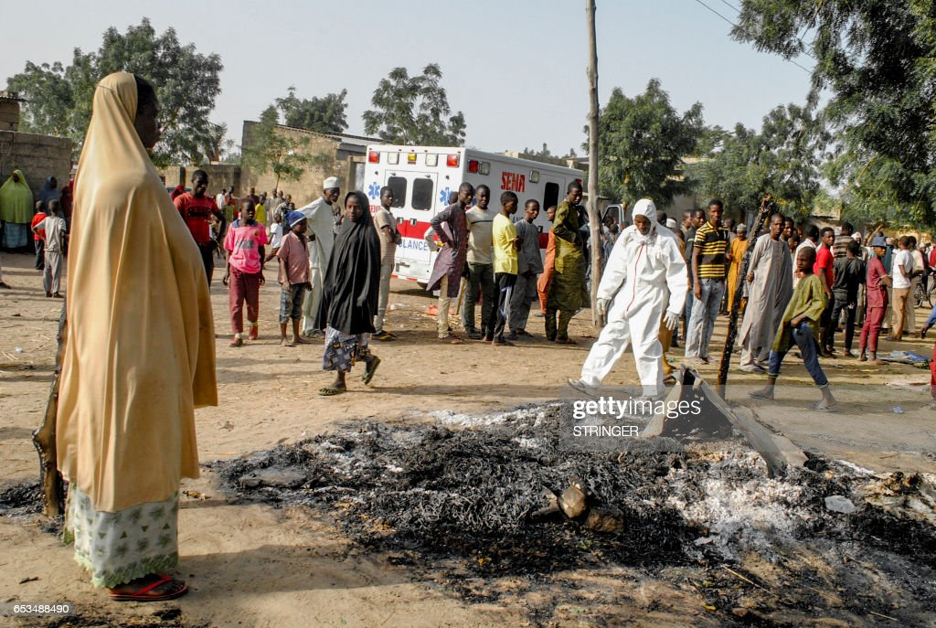 NIGERIA-UNREST-ISLAMIST-BLAST : News Photo