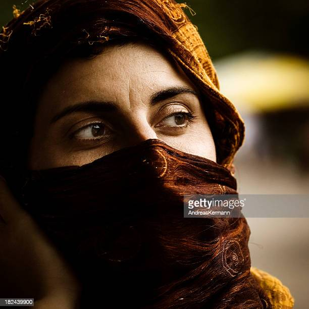 muslim woman - nikab stock pictures, royalty-free photos & images