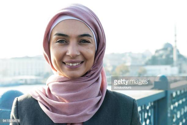 retrato da mulher muçulmana - islã - fotografias e filmes do acervo