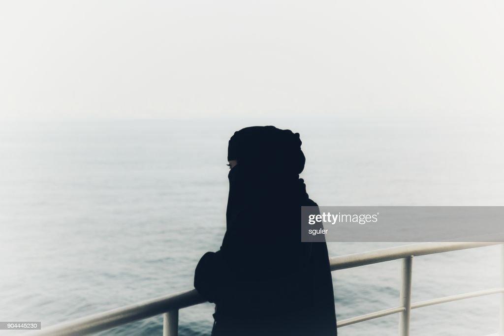 Muslim Women : Stock Photo
