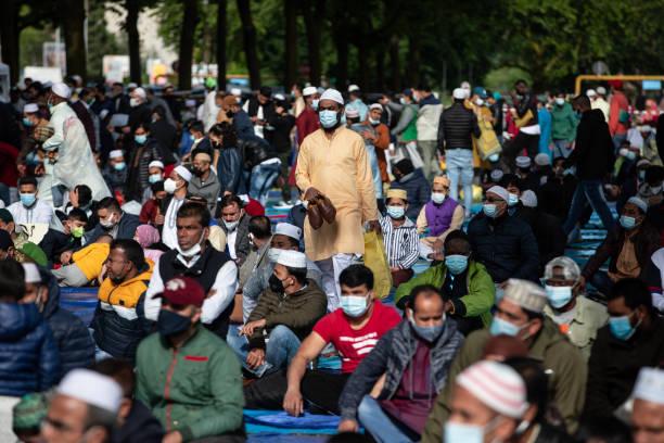 ITA: Italian Muslims Hold Outdoor Prayer For Eid Al-Fitr