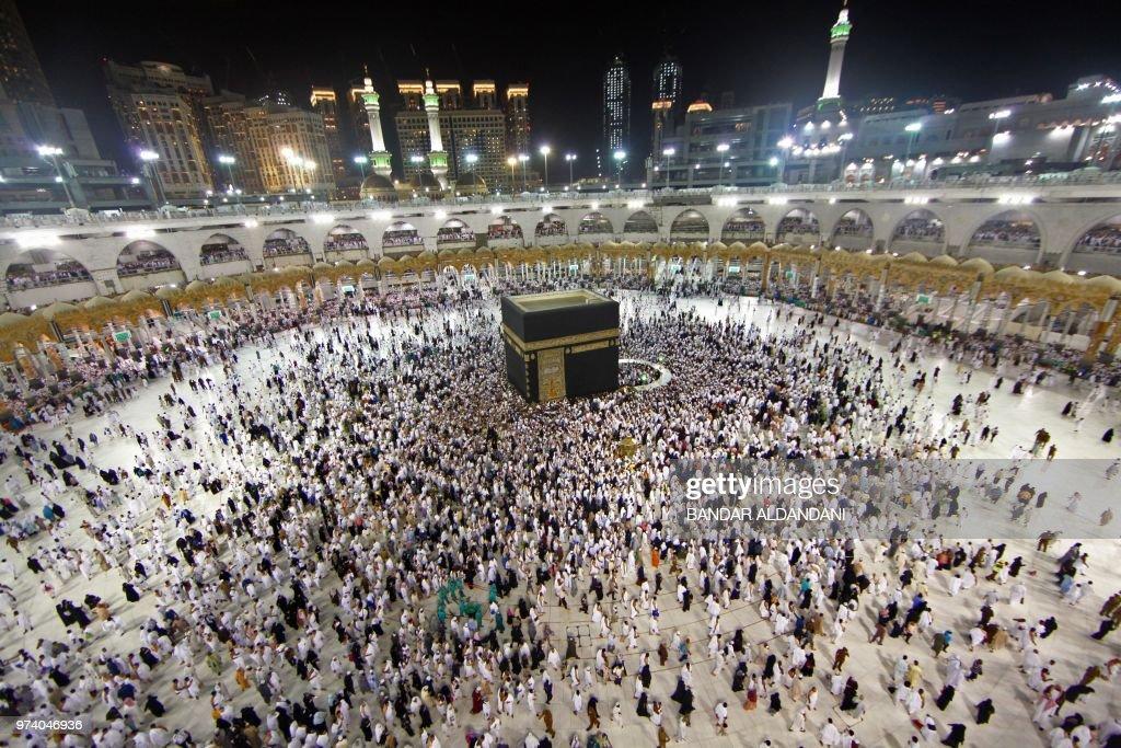 SAUDI-RELIGION-ISLAM-MECCA : News Photo