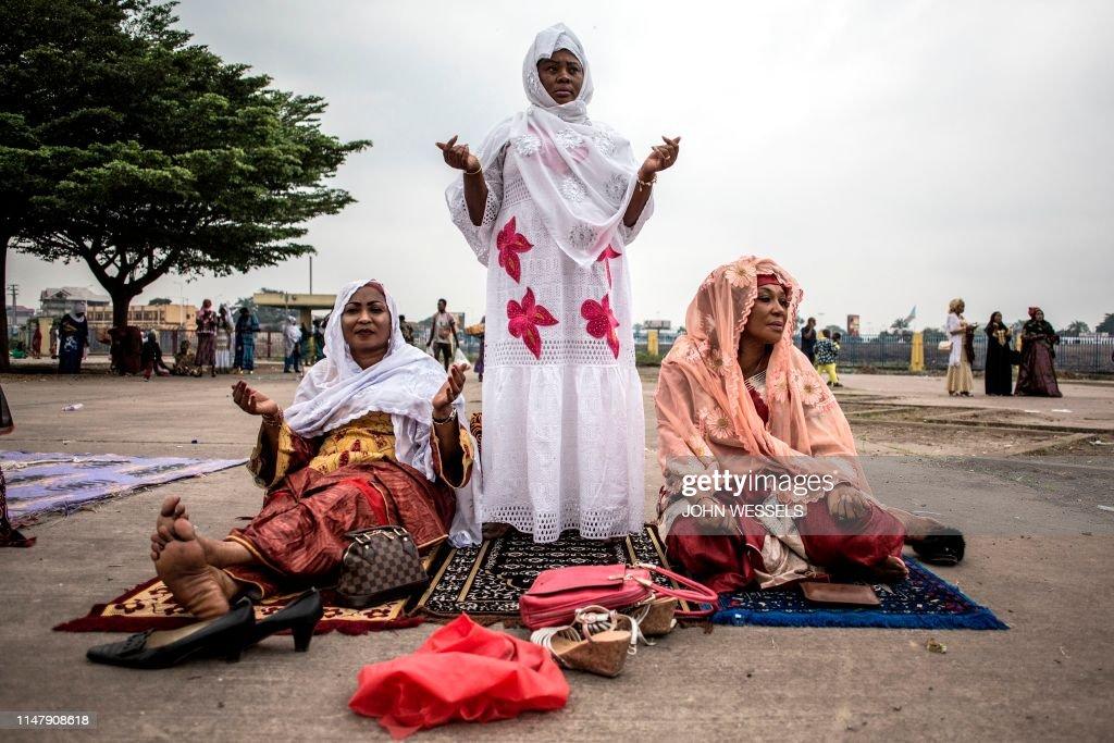 TOPSHOT-DRCONGO-RAMADAN : News Photo