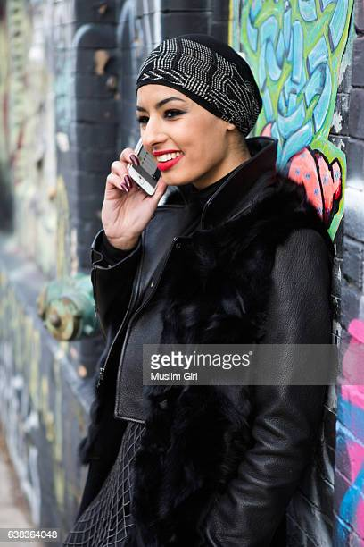 #MuslimGirl on the Phone
