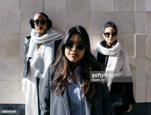 #muslimgirl squad goals - muslimgirlcollection stock pictures, royalty-free photos & images