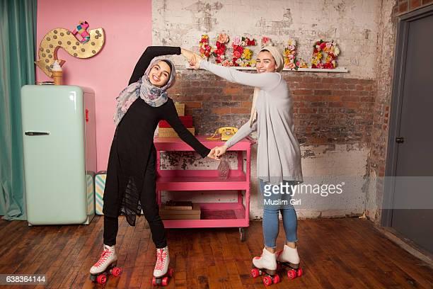 #MuslimGirls Roller Skating