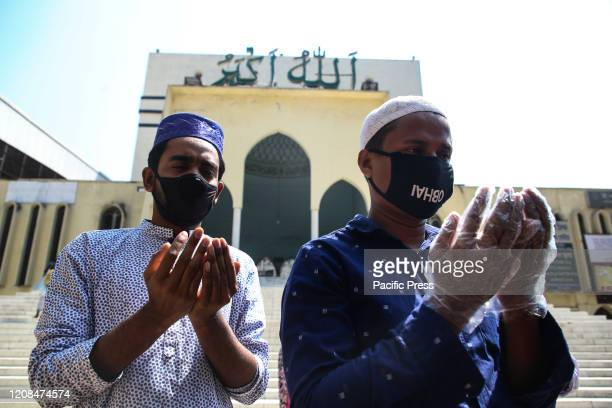 Muslims are praying to Allah to get rid of problems especially coronavirus after Jumma Prayer on Friday Total 44 people have been infected by Covid19...