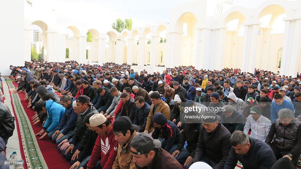 Eid Al-Adha in Kazakhstan : News Photo