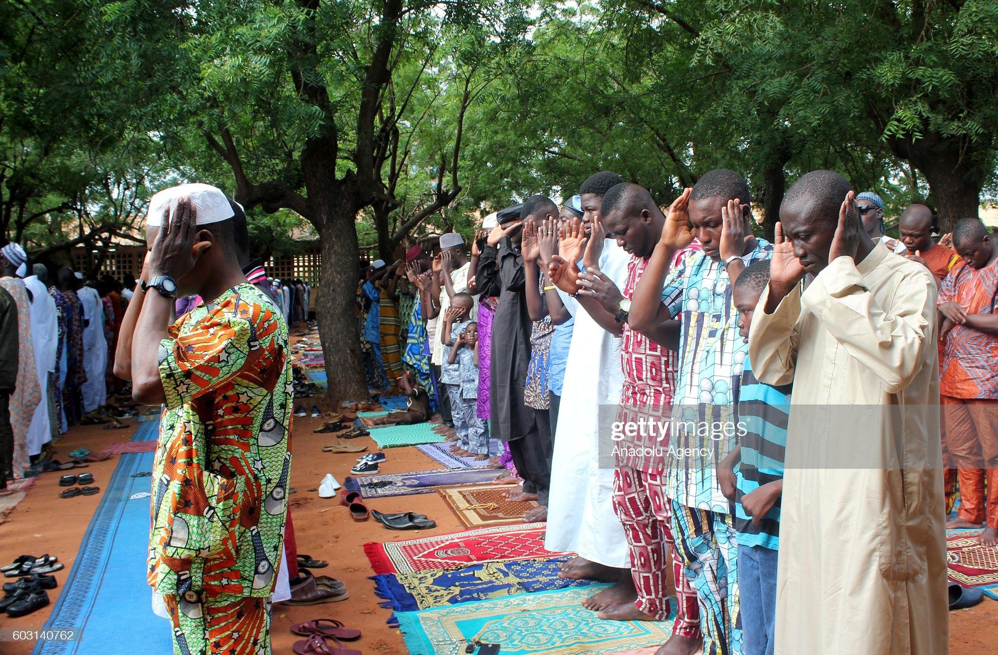 Eid Al-Adha in Togo : News Photo