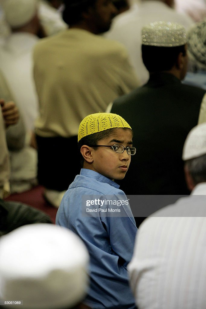 Muslims Attend Afternoon Friday Prayers At The Muslim