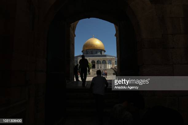 Muslims attend the 1 Muharram 1440 Hijriah celebrations marking Islamic new year at the AlAqsa Compound in Jerusalem on September 11 2018