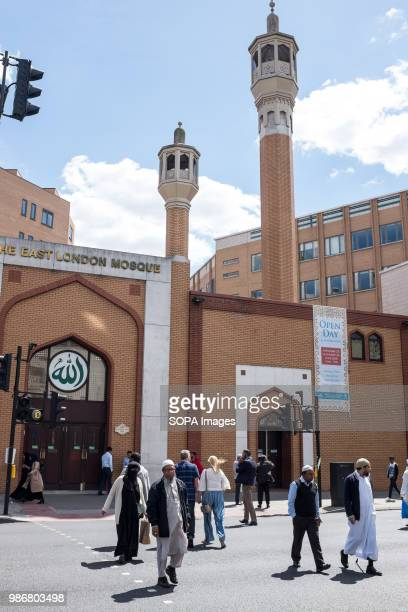 Muslims coming out of The East London Mosque London is the Capital city of England and the United Kingdom it is located in the south east of the...