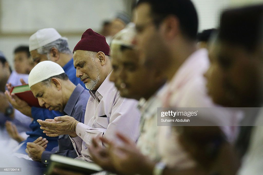 Muslims Observe Ramadan In Singapore : News Photo