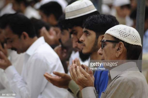 RAWALPINDI PUNJAB PAKISTAN Muslims perform Eid AlAdha prayer during Eid alAdha Muslims worldwide celebrate Eid AlAdha to commemorate the holy Prophet...