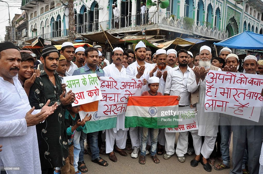 Muslims Protest Against Terrorism And Offer Prayers In