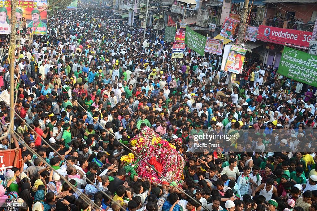Muslims Take Part In Muharram Procession At Old City In