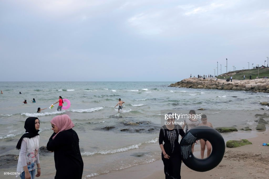 Muslims Celebrate Eid-al-Fitr On The Beach