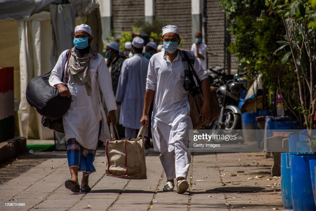 India Imposes Nationwide Lockdown As The Coronavirus Continue To Spread : News Photo