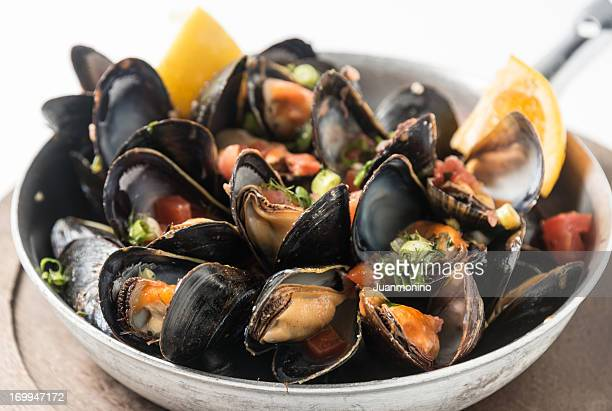 mussels - course meal stock pictures, royalty-free photos & images