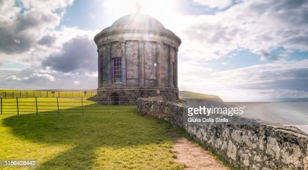 musslenden temple - ireland stock pictures, royalty-free photos & images