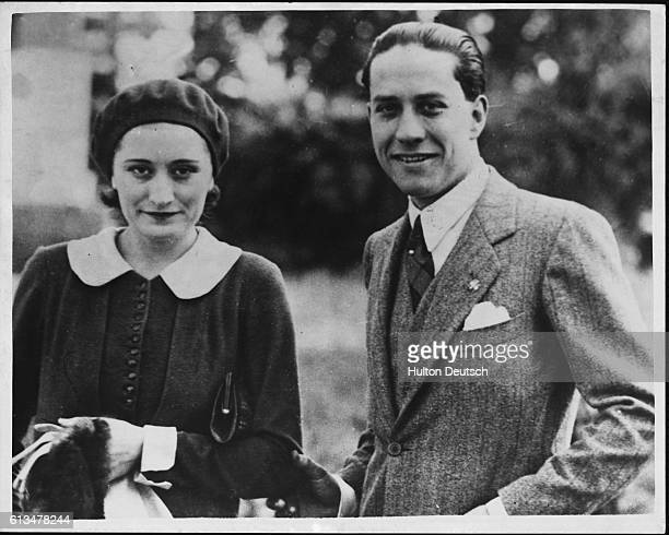 Mussolini's daughter Edda and her husband Count Ciano who is the Italian Consul General in Shanghai