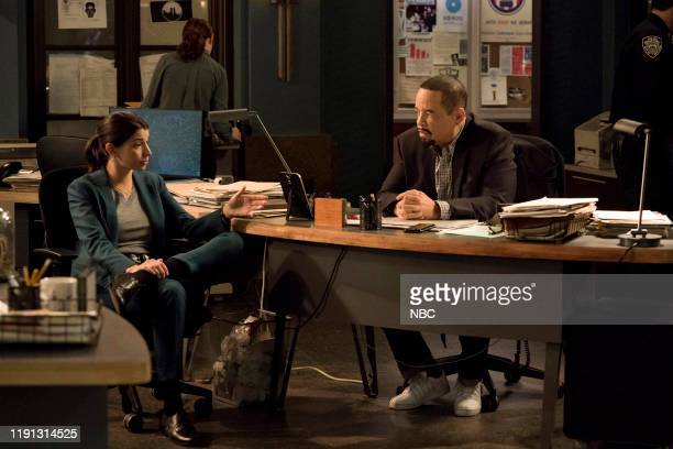 UNIT Must Be Held Accountable Episode 21010 Pictured Jamie Gray Hyder as Officer Katriona Kat Azar Tamin Ice T as Detective Odafin Fin Tutuola