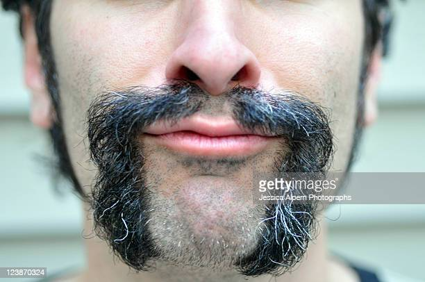 mustache - mid section stock photos and pictures