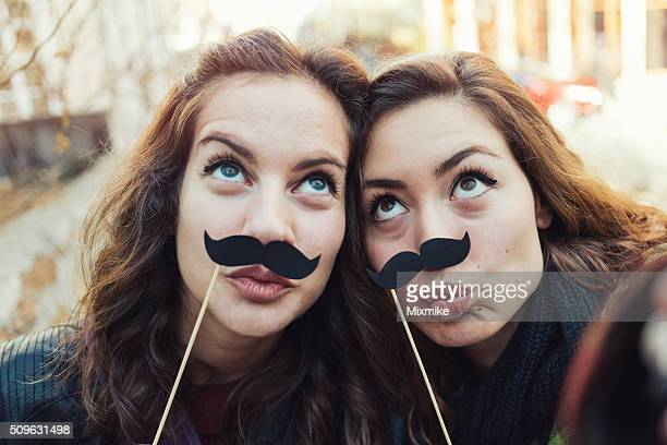 mustaches selfie - eternity stock pictures, royalty-free photos & images