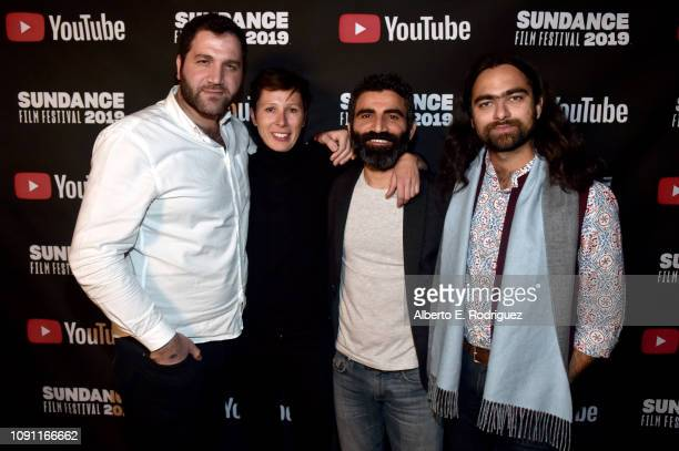 Mustafa Kaymak Susan Andrews Correa Aziz Capkurt and Farhad Ahmed Dehlvi attends the Shorts Program Awards And Party during the 2019 Sundance Film...