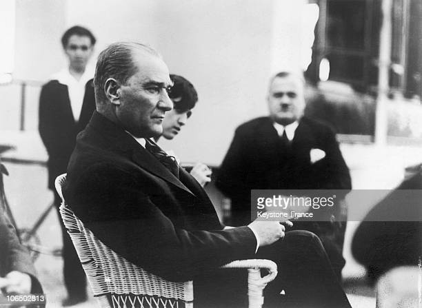 Mustafa Kemal Named The Atatuerk President Of Republic Of Turkey In 1929