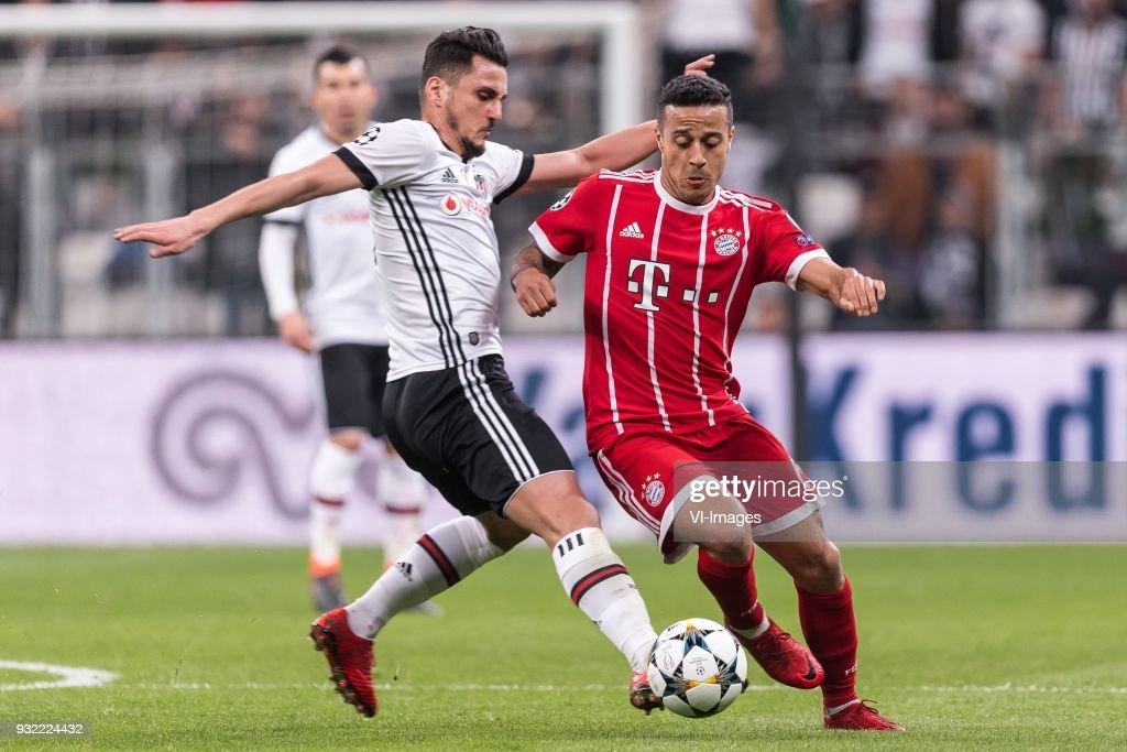 UEFA Champions League'Besiktas AS v Bayern Munchen' : News Photo