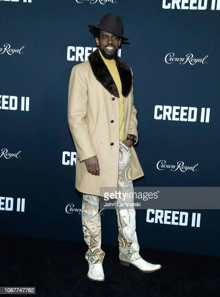 Mustafa Shakir attends Creed II New York Premiere at AMC Loews Lincoln Square on November 14 2018 in New York City
