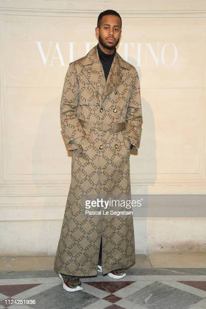 Mustafa The Poet attends the Valentino Haute Couture Spring Summer 2019 show as part of Paris Fashion Week on January 23 2019 in Paris France