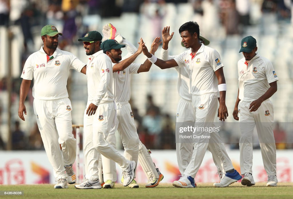 Bangladesh v Australia - 2nd Test: Day 4 : News Photo