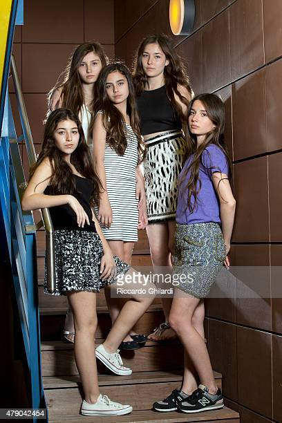 Mustang Cast is photographed for Self Assignment on May 2015 in Cannes France