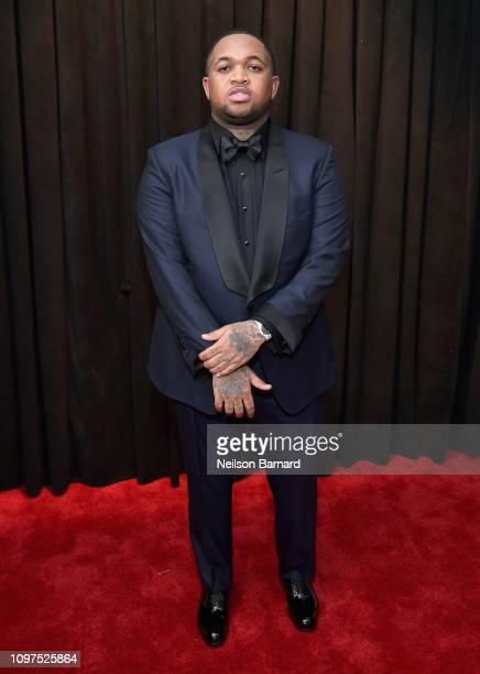 Mustard attends the 61st Annual GRAMMY Awards at Staples Center on February 10 2019 in Los Angeles California