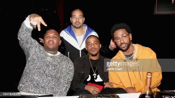 Mustard DJ Envy DJ Mano and Big Sean attend Remy Martin Crowns the Winner of Producers Series Season 5 with Big Sean Mustard on September 26 2018 in...