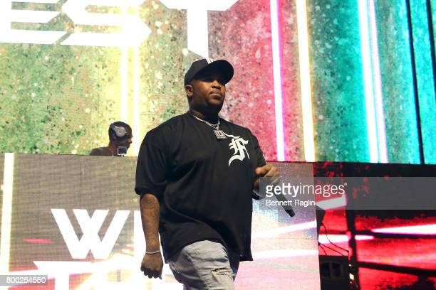 Mustard performs onstage at night two of the STAPLES Center Concert presented by CocaCola during the 2017 BET Experience at LA Live on June 23 2017...
