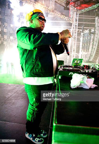 Mustard performs onstage during day 1 of the 2016 Coachella Valley Music Arts Festival Weekend 2 at the Empire Polo Club on April 22 2016 in Indio...