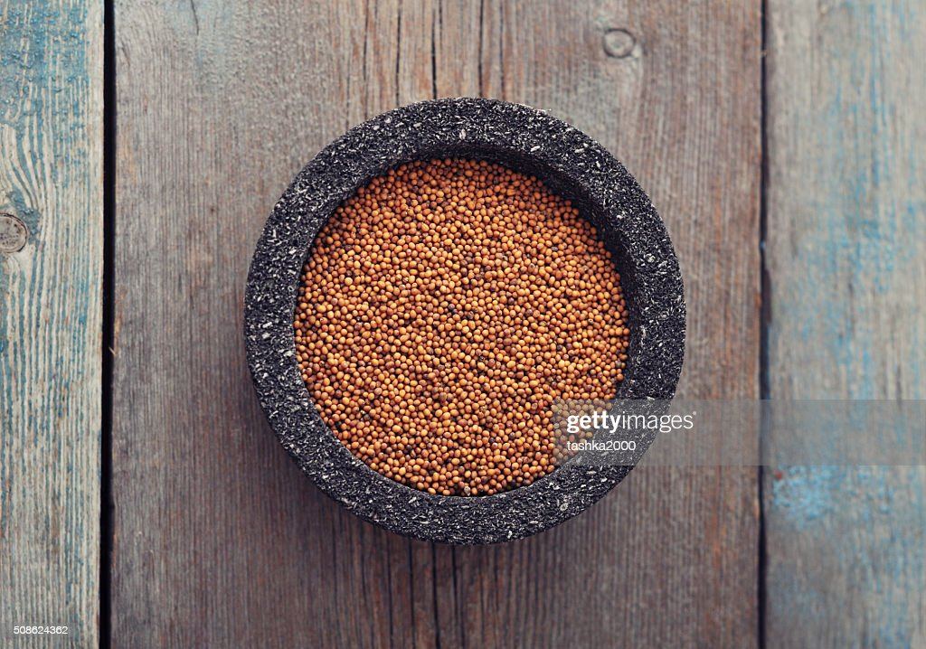 Mustard seeds : Stock Photo