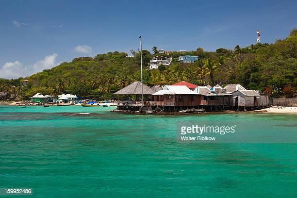 Mustique, St. Vincent, beach bar